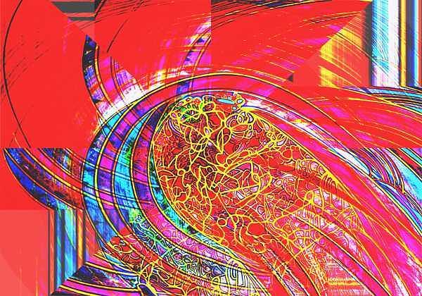 Expansion Digital Art - Ac-01-11 by Lao Dan
