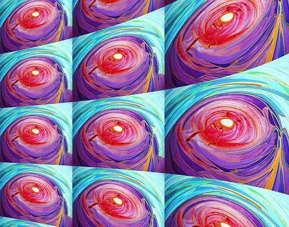 Emergence Digital Art - Ac-02-02 by Lao Dan