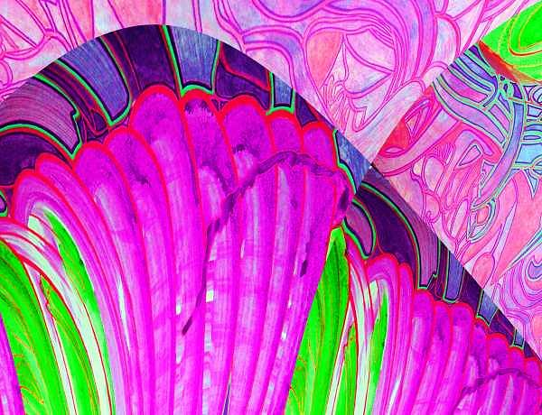 Turbulence Digital Art - Ac-03-02 by Lao Dan