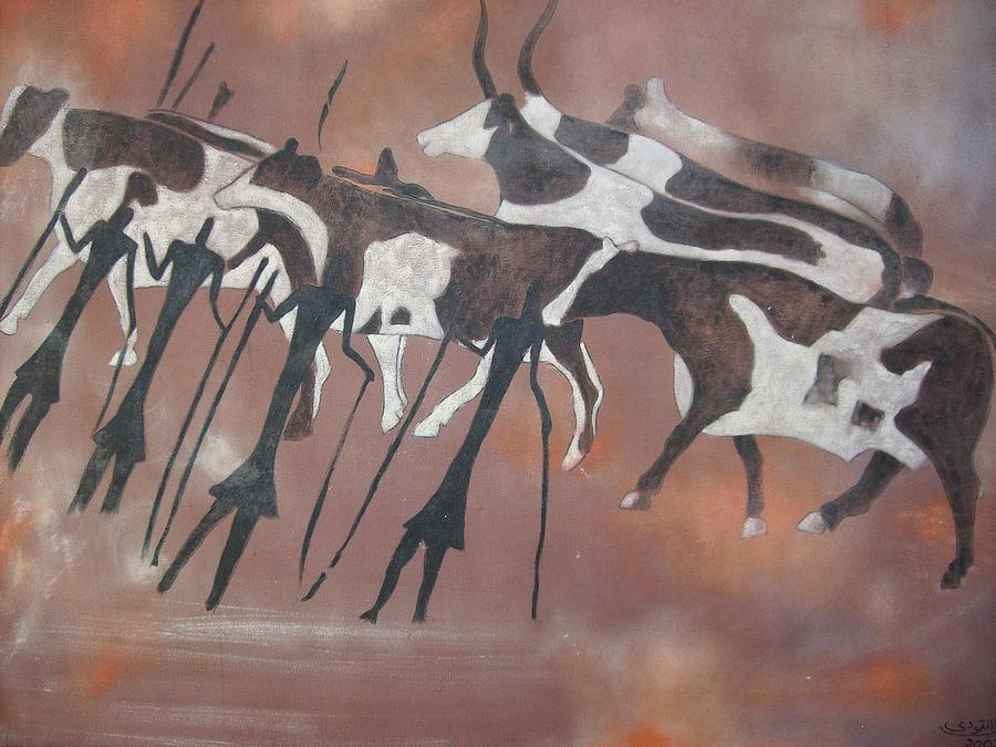 Acacos1 Painting by Khalil Gammoudi