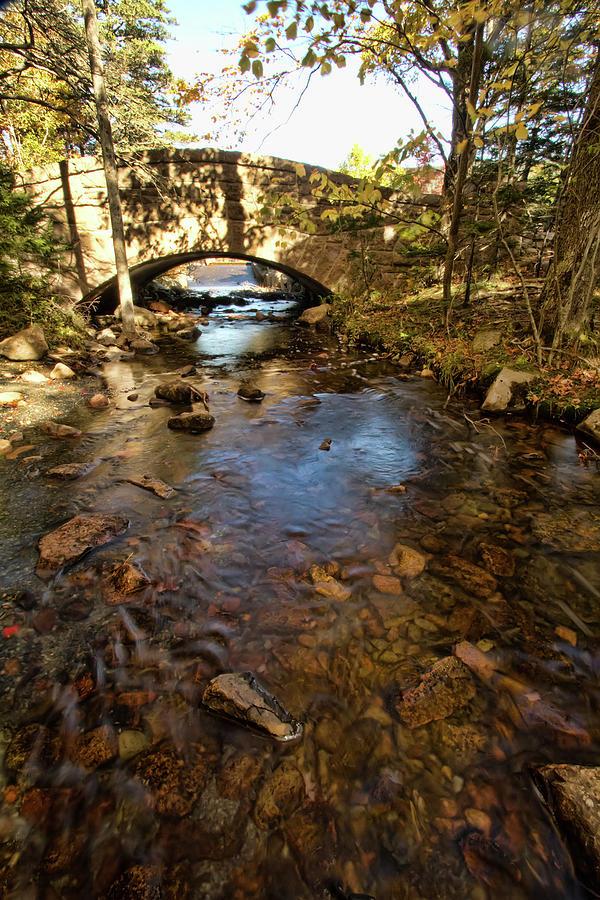 Acadia Photograph - Acadia Bridge by Alexander Mendoza