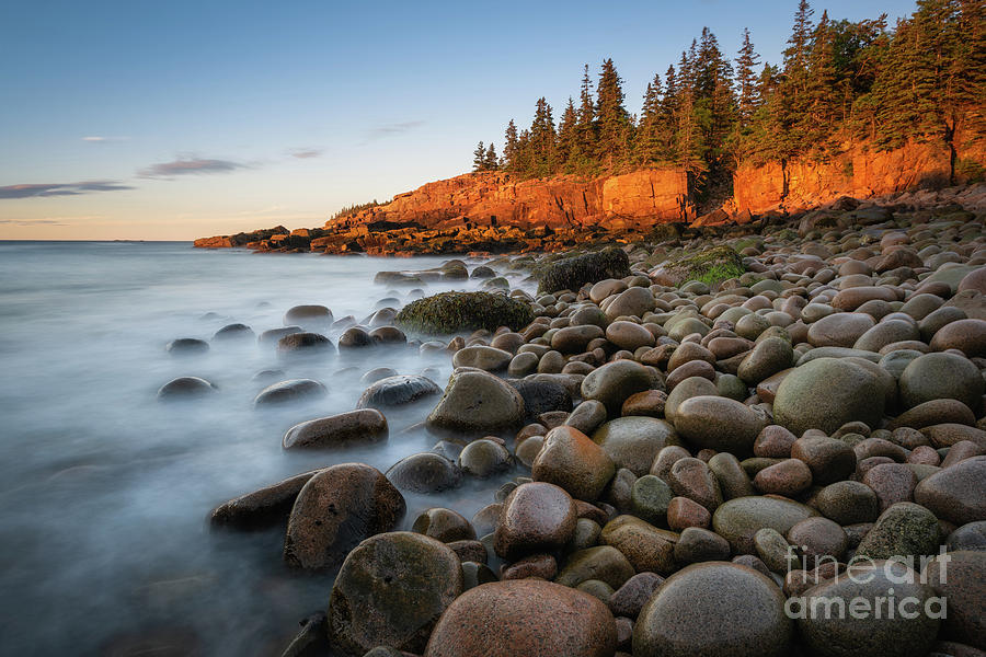 Acadia National Park Photograph - Acadia National Park Morning Light by Michael Ver Sprill