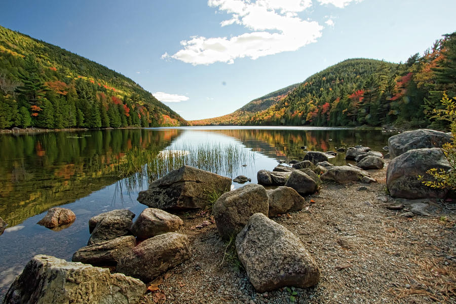 Maine Photograph - Acadia Scenery by Alexander Mendoza