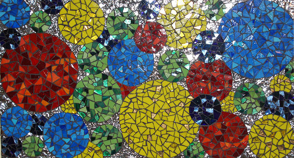 Mosaic Mixed Media - Acceleration by Eleanor Parr-DiLeo