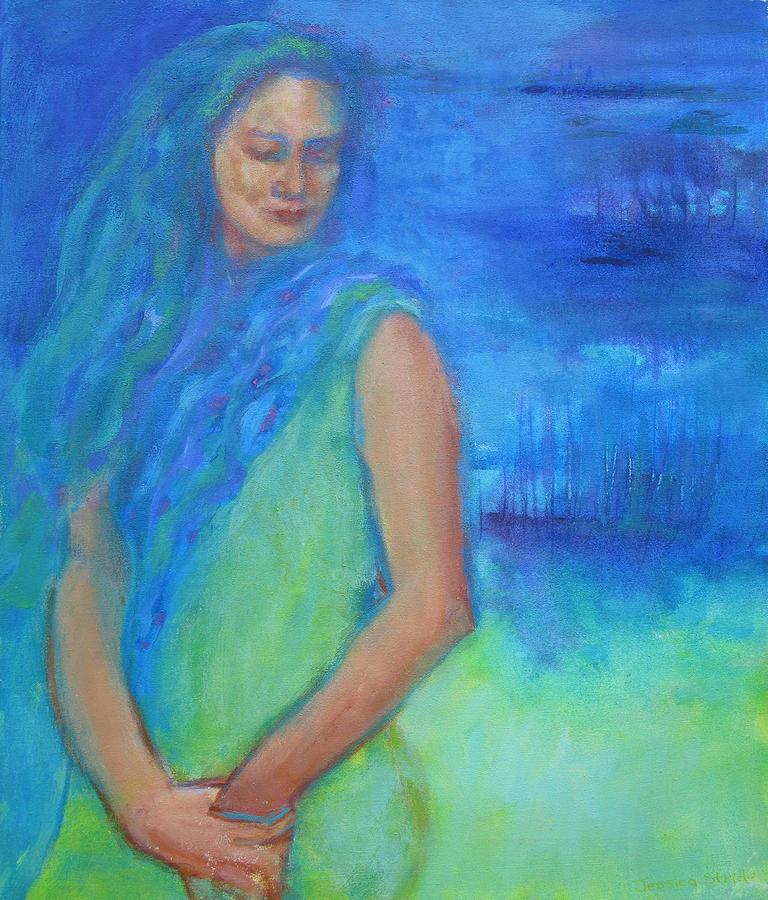 Portrait Painting - Acceptance by Jessica Stride
