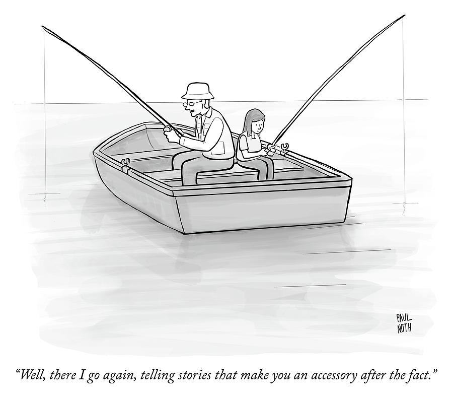 Accessory After The Fact Drawing by Paul Noth