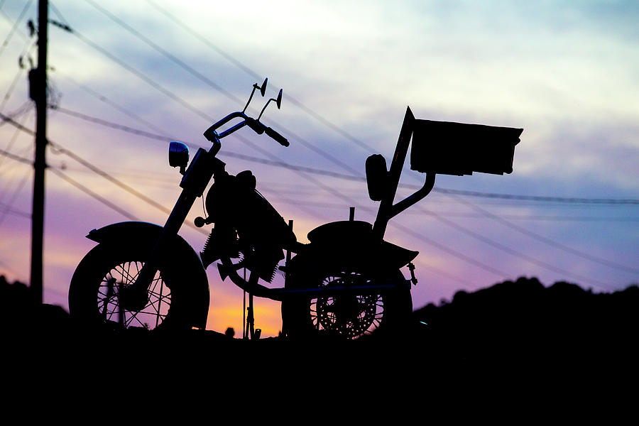 Motorcycle Photograph - Accidental Beauty by Keith May