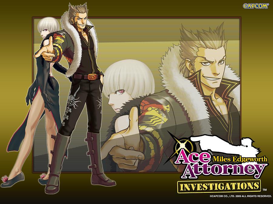Ace Attorney Investigations Miles Edgeworth Digital Art By Lissa