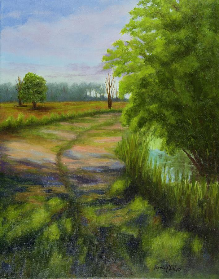 Ace Painting - Ace Basin Pathway by Rosie Phillips