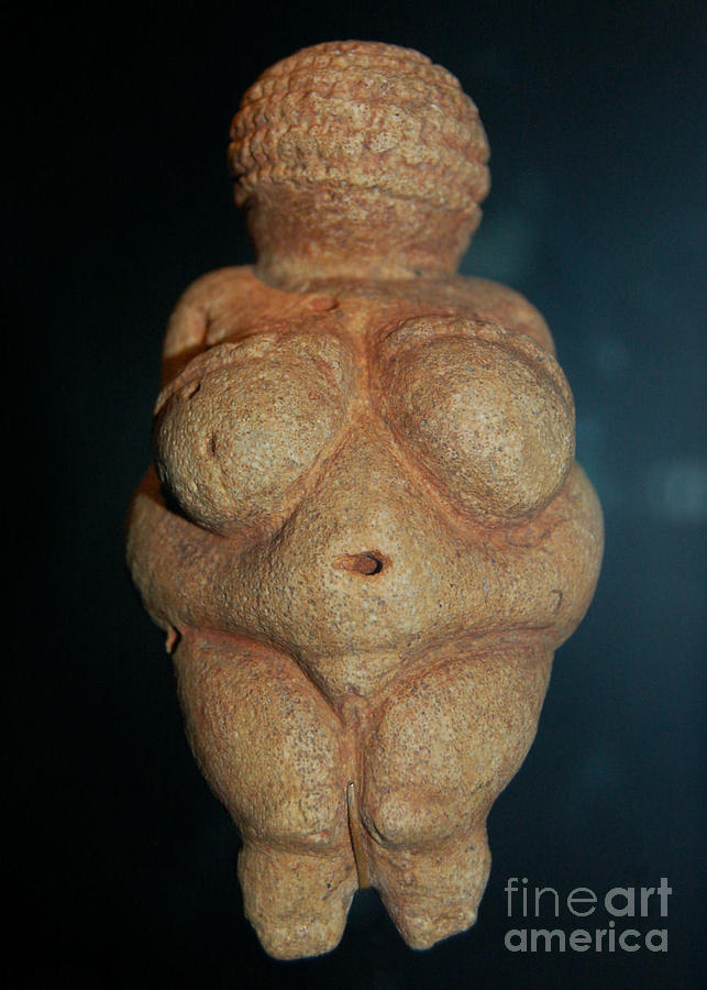 Aceo Photograph - Aceo Venus Of Willendorf by Wayne Higgs