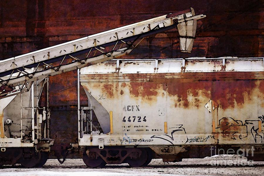 Harbor Digital Art - A C F X 44724 by David Blank