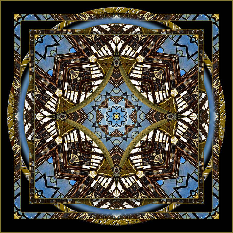 Mandala Photograph - Acme 3 by Willa Davis