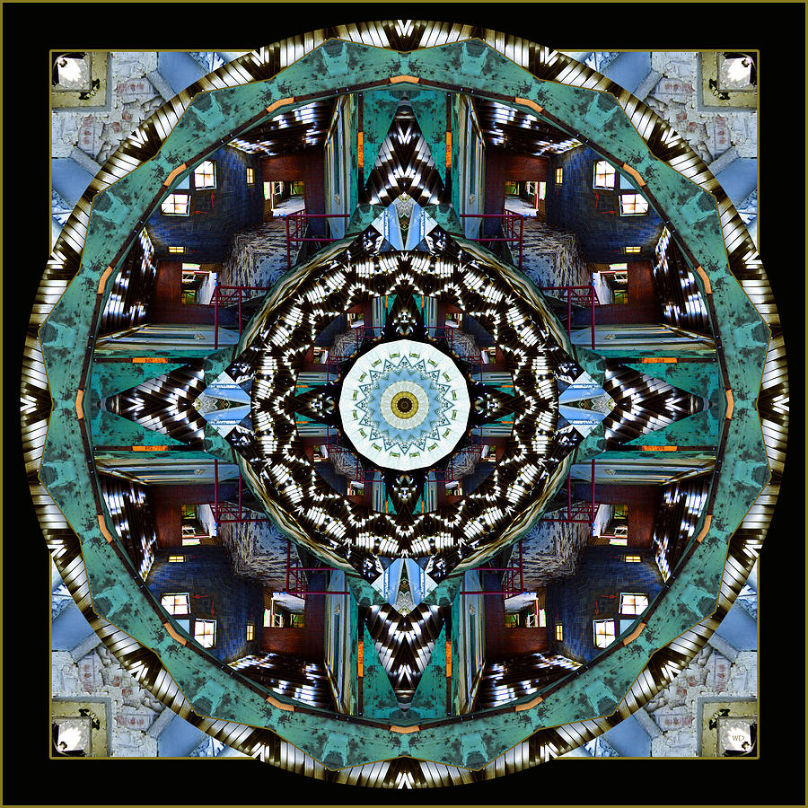 Mandala Photograph - Acme 4 by Willa Davis