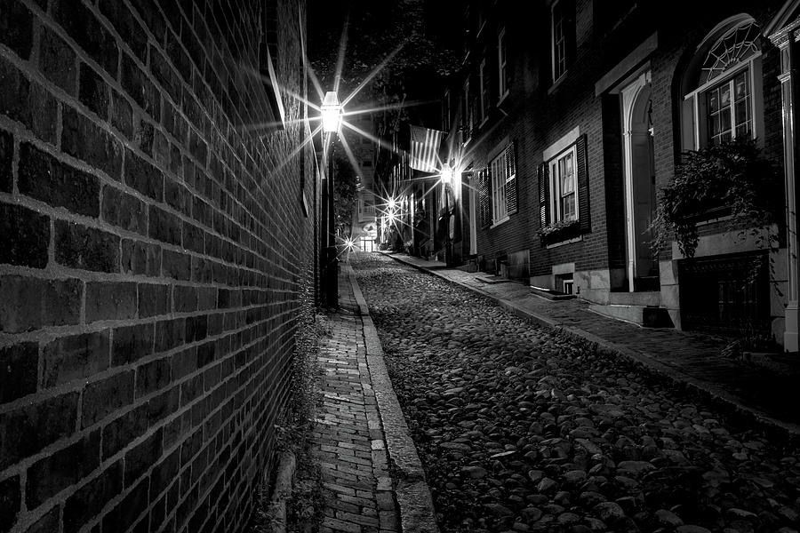 Boston Photograph - Acorn Street  by Colin Chase