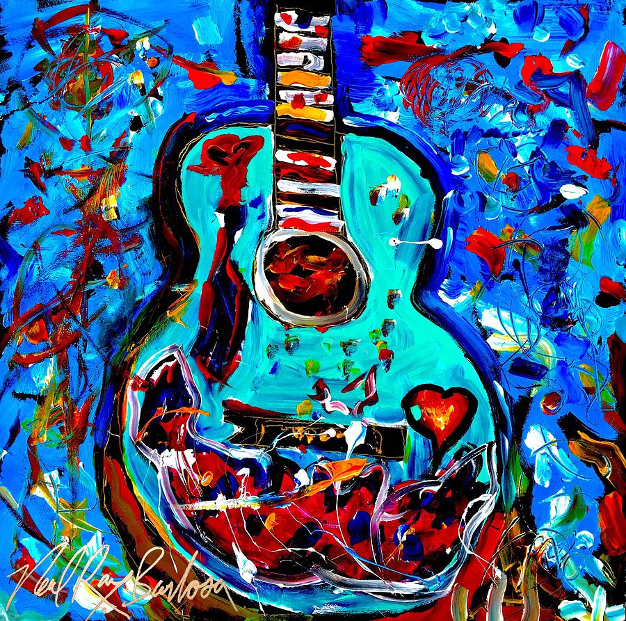 Acoustic love guitar by Neal Barbosa