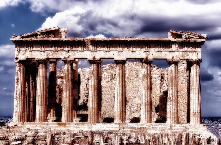 Acropolis of Greece by Linda Constant