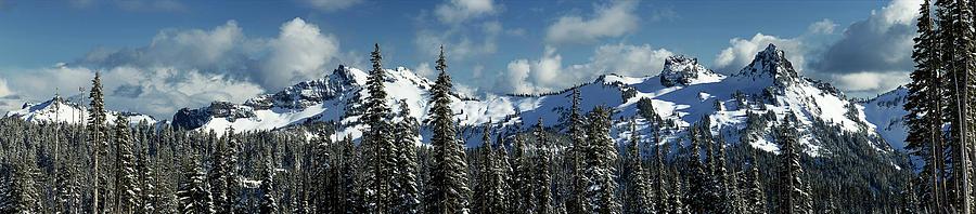 Across From Mt Rainier by Mary Jo Allen