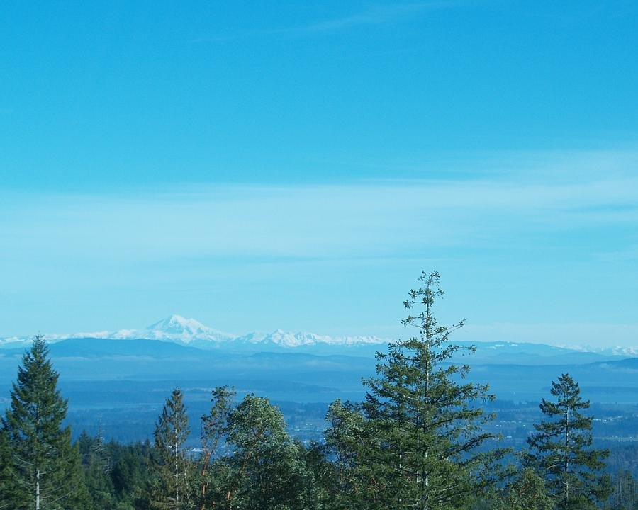 Vancouver Island Photograph - Across The Border by James Johnstone