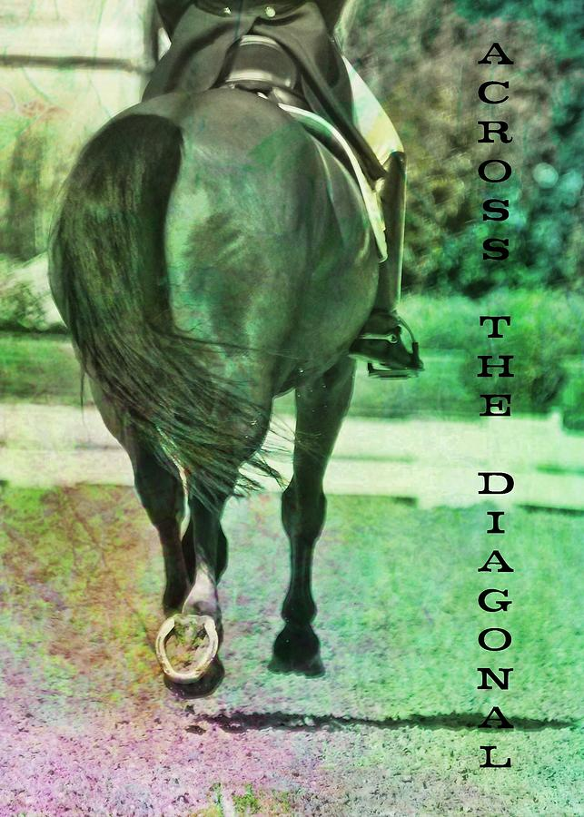 Horse Photograph - Across The Diagonal Quote by JAMART Photography