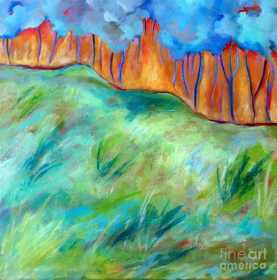 Across The Meadow by Elizabeth Fontaine-Barr