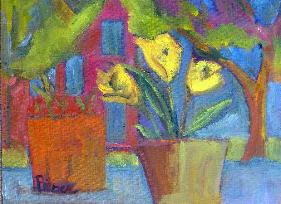 Across the Street from My Window Sill  by Betty Pieper