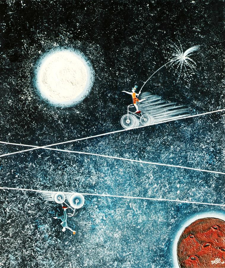 Universe Painting - Across The Universe by Graciela Bello