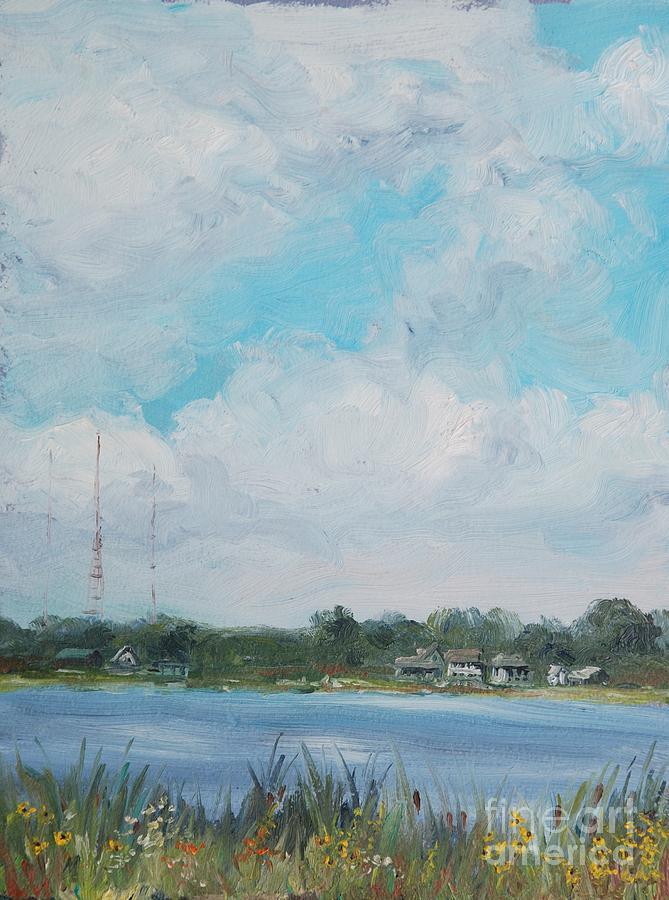 Landscape Painting - Across Winona by Mike Yazel
