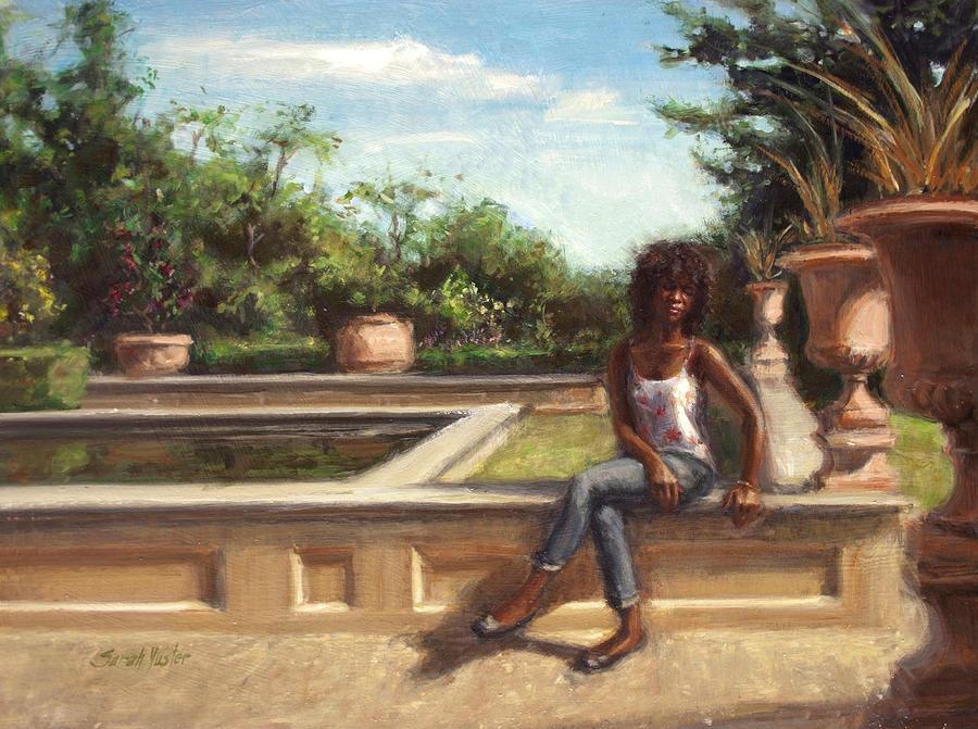 Snug Harbor Painting - Adagio by Sarah Yuster