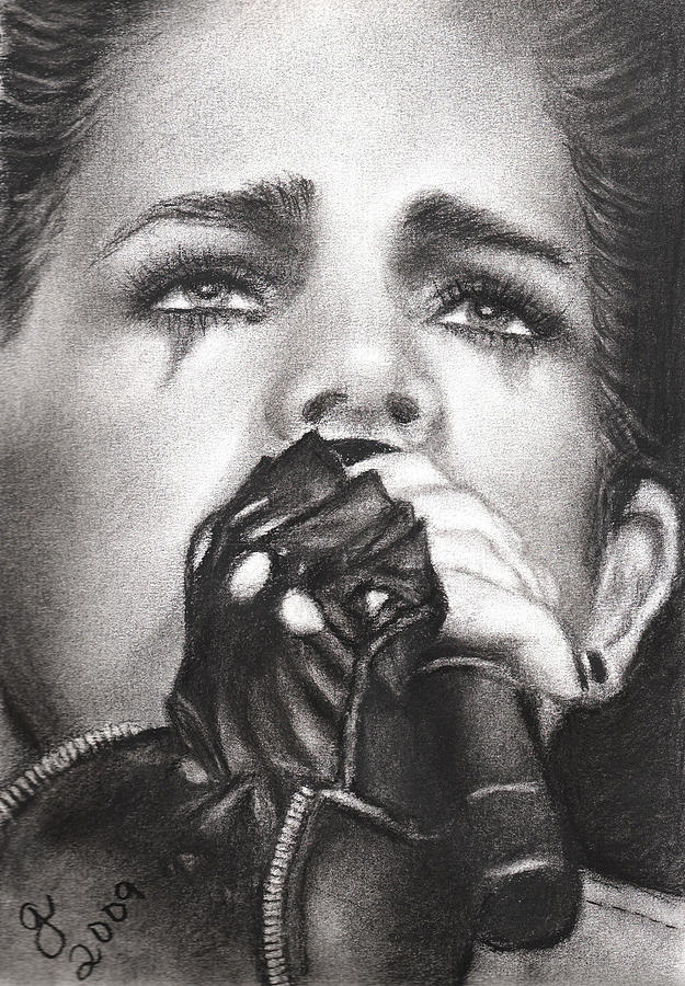 Adam Lambert Drawing by Grace Rose