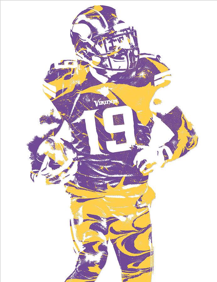 meet 55d8b 46c7c Adam Thielen Minnesota Vikings Pixel Art 2