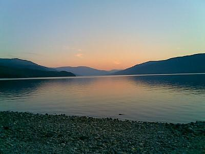 Sunset Photograph - Adams Lake by Paul Horvath