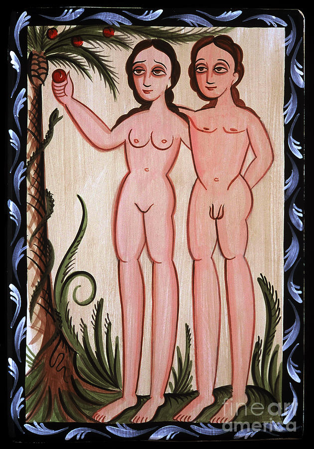 Adan y Eva - Adam and Eve - AOAYE by Br Arturo Olivas OFS