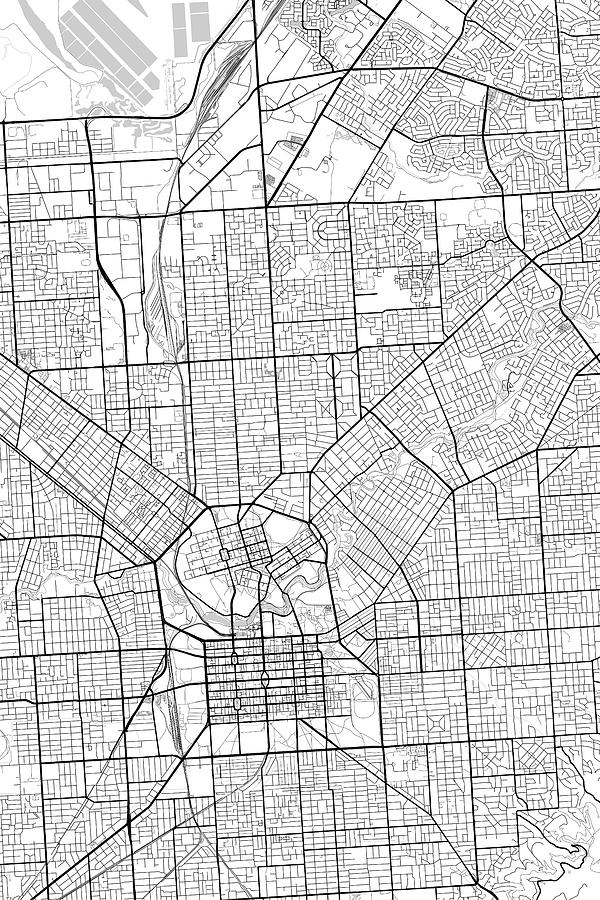 Map Of Adelaide Australia.Adelaide Australia Light Map By Jurq Studio