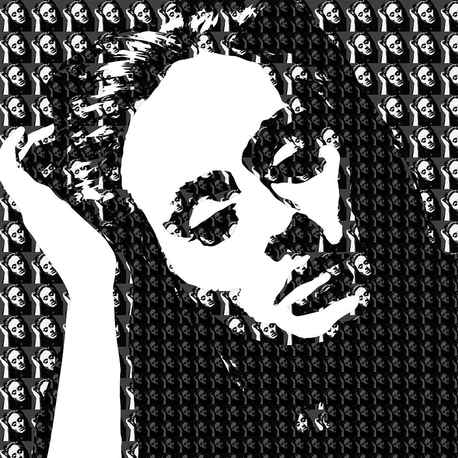 Adele Digital Art - Adele 21 Album Cover Digital Art by Ryan Dean