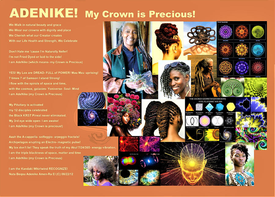 ADENIKE My Crown Is Precious by Adenike AmenRa