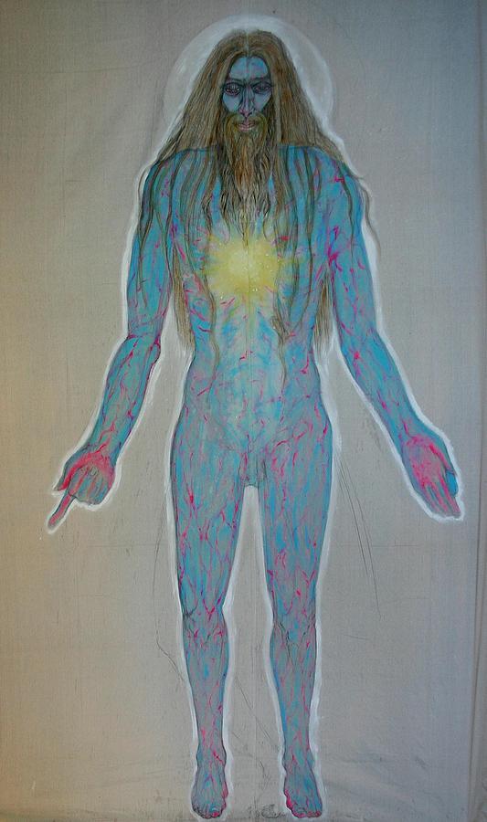Adi Shiva Painting by Brian c Baker