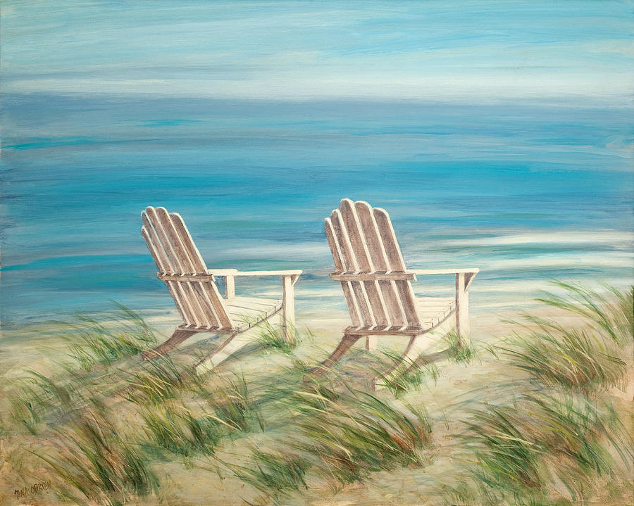 Bon Adirondack Chairs Painting   Adirondack Chairs By Tina Obrien
