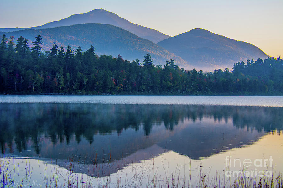Landscape Photograph - Adirondack Morning by Diana Wind