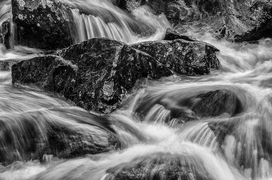 Adirondack Waterfall by Bob Grabowski