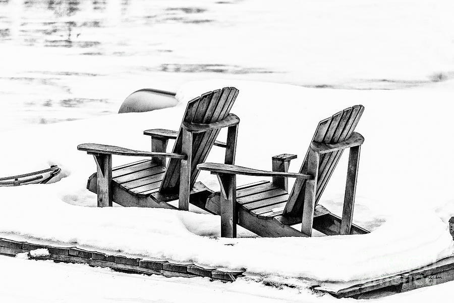 Adirondacks in Waiting by Roger Carlsen
