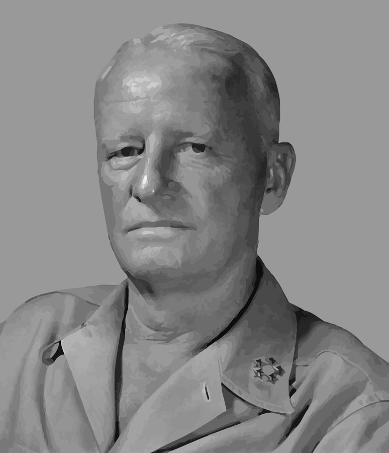 Navy Painting - Admiral Chester Nimitz by War Is Hell Store