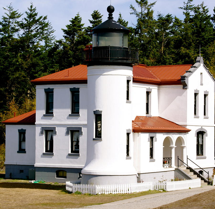 Architecture Photograph - Admirality Head Lighthouse by Sonja Anderson