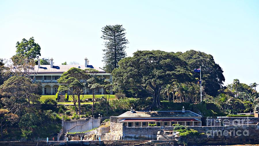 Sydney Photograph - Admiralty House by Stephen Mitchell