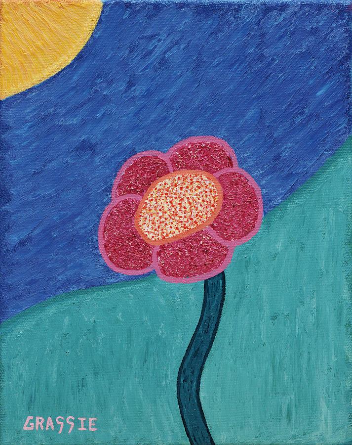 Flower Painting - Admire by Jeff Grassie