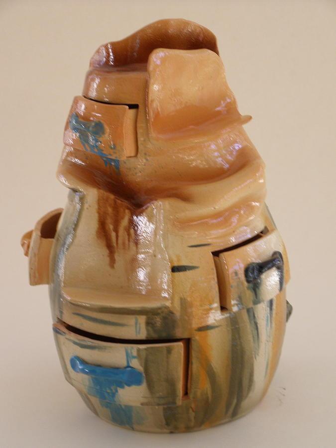 Drawers Ceramic Art - Adobe Drawers by Viva Jones
