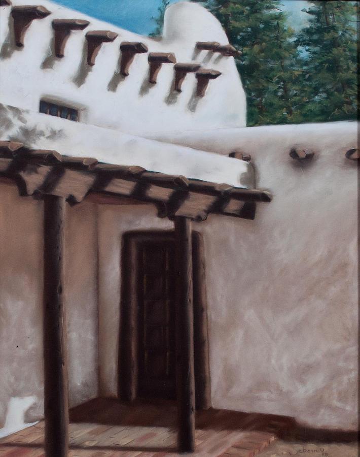 Adobe Painting - Adobe Shadows by Pat Sebern