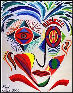 Adolescence Painting - Adolescence by Paul Kaleja