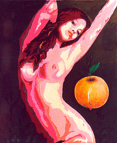 Adolescenza Painting by Gianni  Marazzi