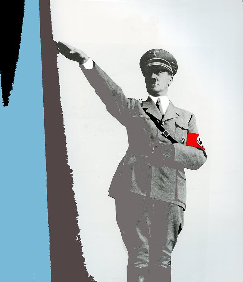 Adolf Hitler Saluting Full Figure Circa 1933-2016 Photograph by David Lee Guss