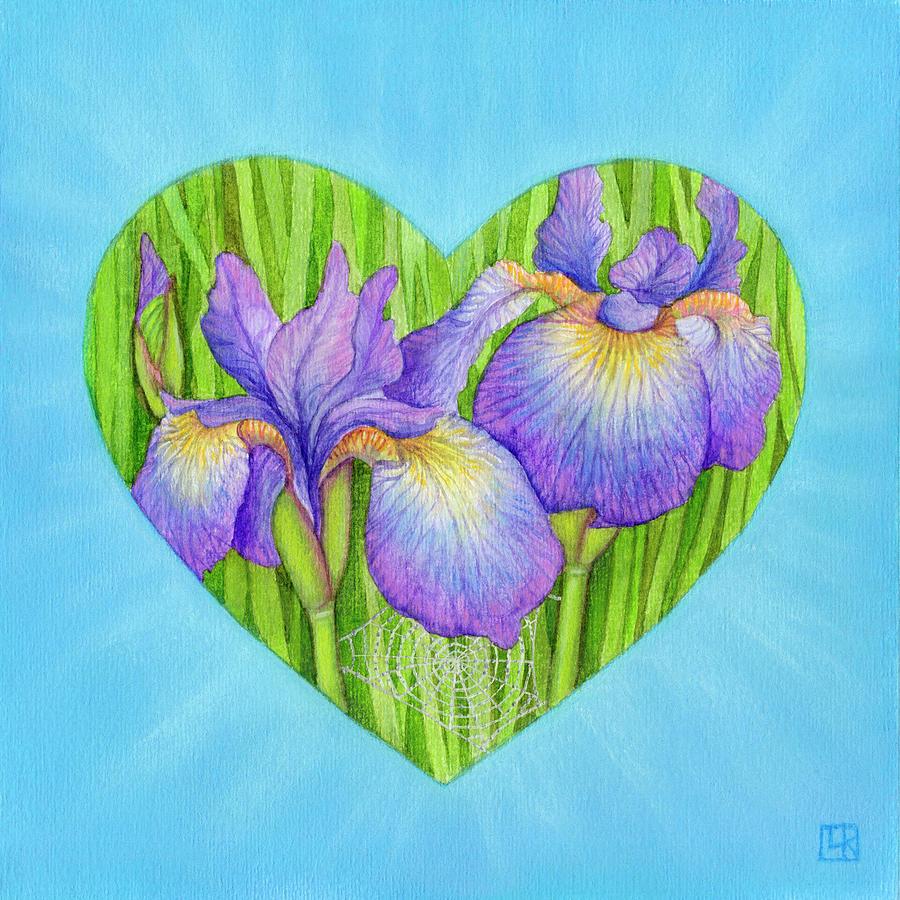 Heart Mixed Media - Adree by Lisa Kretchman